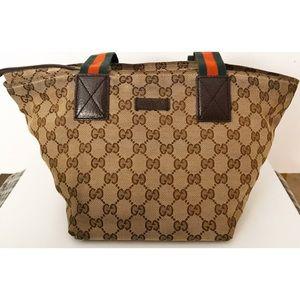 Gucci Bags - 💯Authentic Gucci Web Sherry Line Shoulder Bag